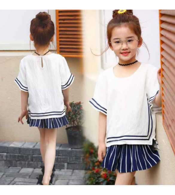 Girl Set Common White